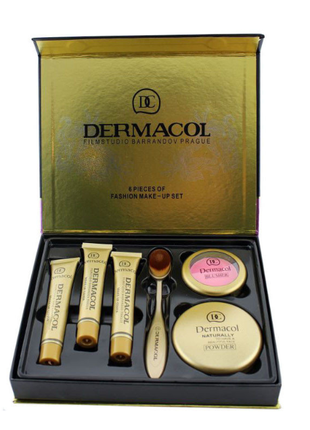 Подарочный набор Тональный крем Dermacol 6-в-1