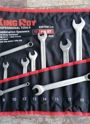 Акция! Набор ключей рожково-накидных KING ROY 10пр KRTRP-10 6-...