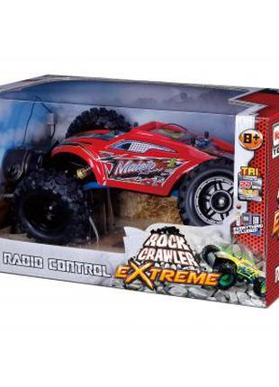 Радиоуправляемая игрушка Maisto Rock Crawler Extreme красный (811
