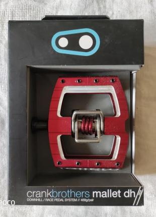 Crank Brothers Mallet DH - Red -