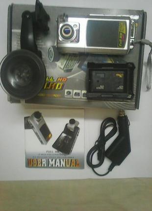 Видеорегистратор F900LHD + карта памяти 16 Гб