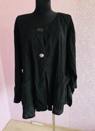 Легкий пиджак /кардиган большого размера