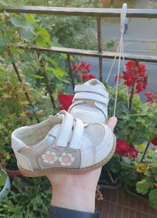 Осенние демисезонные ботинки туфли 19 20 размер 12 12,5 см
