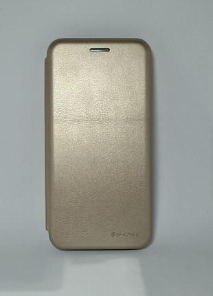 Чохол-книжка Samsung J2/J250 Luxo Leather Walet Gold