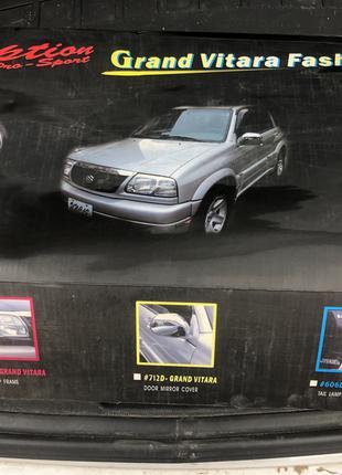Набор хромированных накладок на Suzuki Grand Vitara 1999-2005