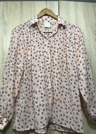 Шифоновая блуза с красивым принтом alexon #розвантажуюсь