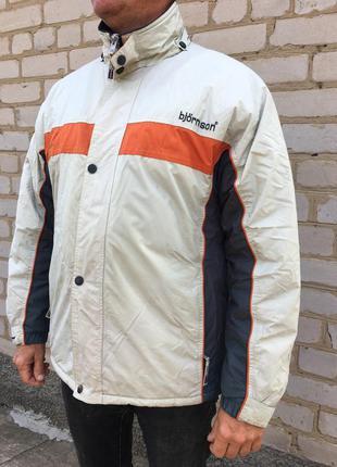Куртка björnson зимняя яркая мужская на подкладке с карманами ...
