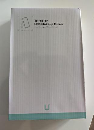 LED Зеркало Xiaomi Jordan&Judy НОВАЯ ВЕРСИЯ NV505 Tri-Color Подсв