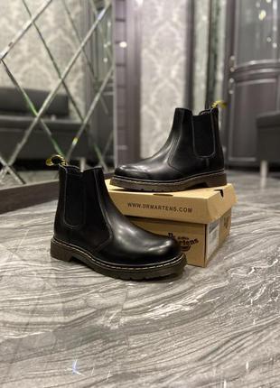 "Ботинки dr. martens ""cheksea black"""
