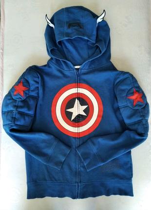"""Толстовка детская """"Капитан Америка"""""""