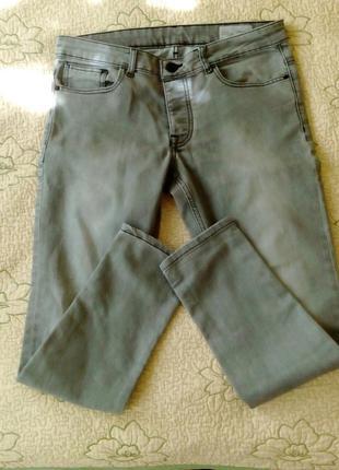Cовременные джинсы Denim Co цвет серый размер W34 L30 или 48