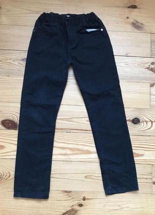Детские черные штаны джинсы