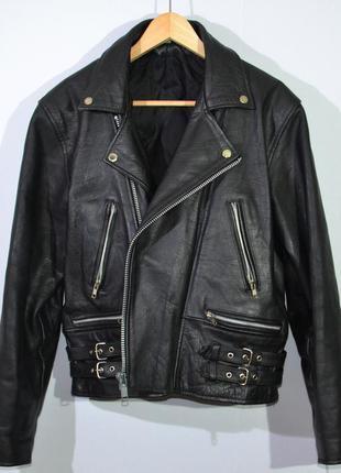 Кожаная косуха leather jacket