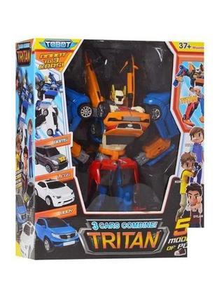 Трансформер 507 Тобот Тритан 33см, 3 маш Tobot Tritan X Y Z