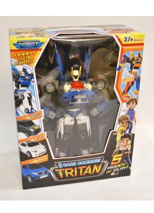Трансформер 507 Тобот Тритан 33 См, 3 Маш Tobot Tritan X Y Z