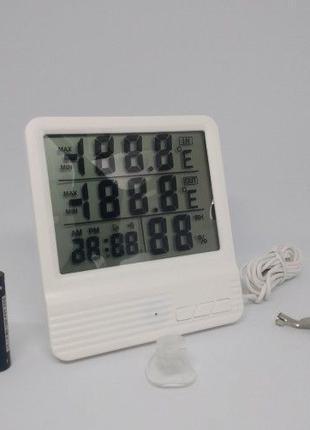 Метеостанция Термометр Гигрометр c выносным датчиком CX-301A
