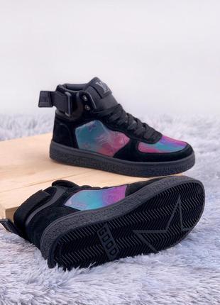 Комфортные  женские кроссовки     boombox trainer boots black ...