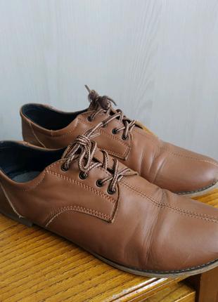 Туфли кожаные, Оксфорды
