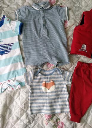 Одежда для новорожденных, пакет десткой одежды,