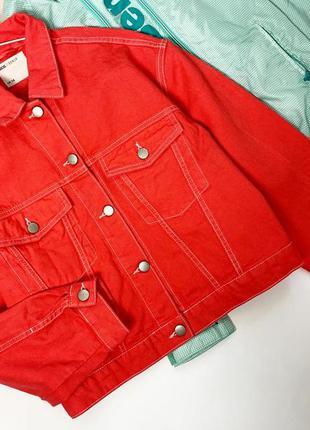 Яркая джинсовая куртка asos 🔥