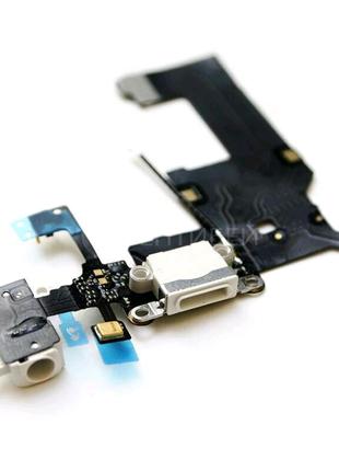 Шлейф для iPhone 5, с разъемом зарядки, с коннектором наушников,