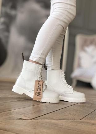 Ботинки зимние на меху dr.martens код 2038