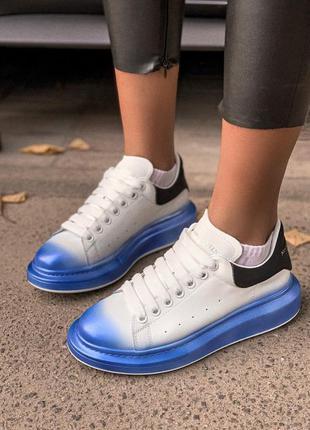 👟 кроссовки женские alexander mcqueen маквин   / наложенный пл...