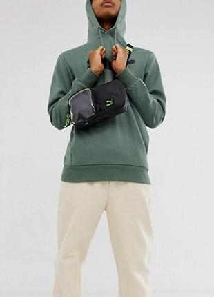 Сумка на пояс плече puma мессенджер барсетка nike adidas