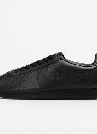 Оригинальные кроссовки nike classic cortez leather 749571-002