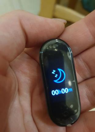 Xiaomi Mi Smart Band 4 Black  Смарт часы фитнесс браслет