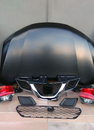 Капот крыло решетка фонарь заглушка Nissan Rogue X-Trail T32 2017