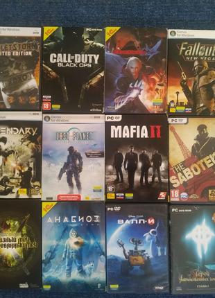 Коллекция видеоигр 150 шт. (PC, лицензия)