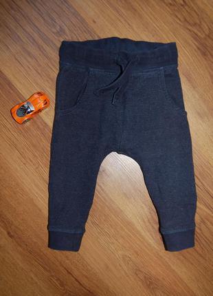 Спортивные штаны next, узкие, рост 80- 86