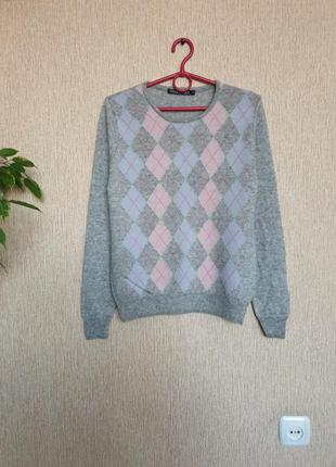 Красивый, нежный, стильный свитер, джемпер от woolovers