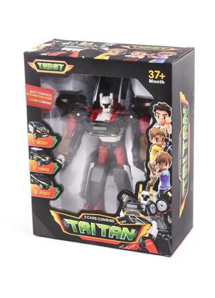 Трансформер 516 Тобот Тритан, робот+3 маш Tobot Tritan X Y Z