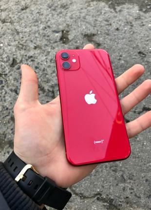 iPhone 11 128 GB RED неверлок