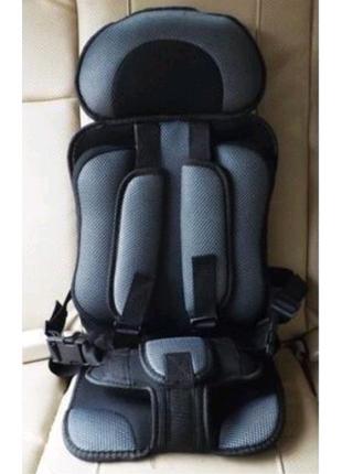 Портативное бескаркасное автомобильное детское сиденье 6мес-5 лет