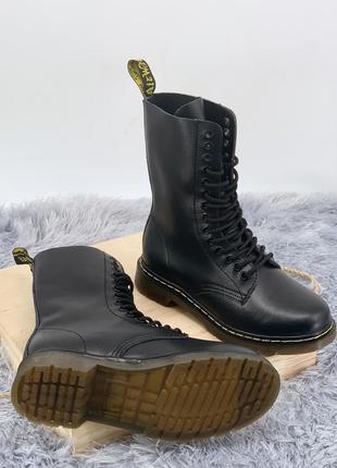 Стильные   ботинки   женские 1914 black (без меха)