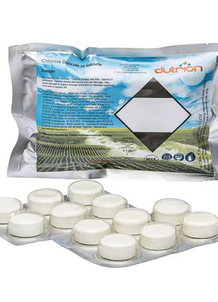 Дезинфектант (дезинфектор) без спирта, диоксид хлора Dutrion™