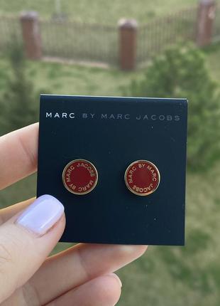 Серёжки marc by marc jacobs