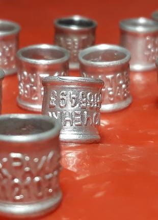 Кольца для голубей алюминиевые