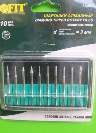 Шарошки алмазные