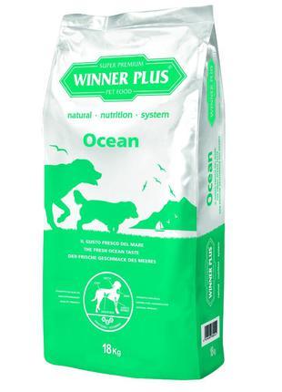 WINNER PLUS Професійний корм для собак з лососем(18 кг)