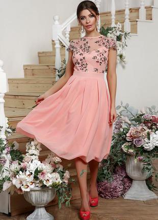 Нарядное шикарное платье айседора