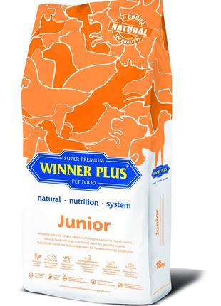 WINNER PLUS - Сухий корм для цуценят від 2-х місяців (18 кг)