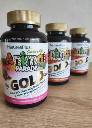Nature´s Plus, Animal Parade Gold Мультивитамины и минералы