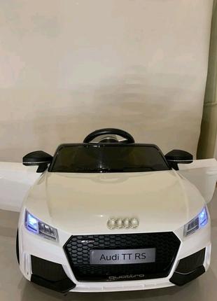 Детский электромобиль Audi TT RS license White