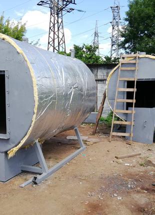 Оборудование для получения древесного угля из pini kay.