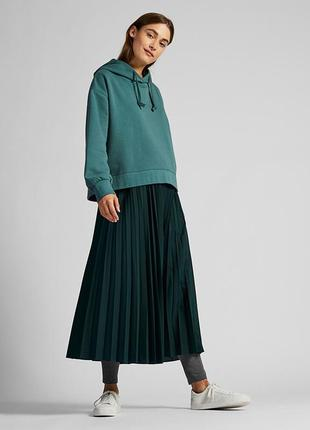 Плиссированная юбка Uniqlo, М