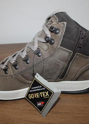 Кожаные ботинки ecco  byway tred gore-tex, 45 размер